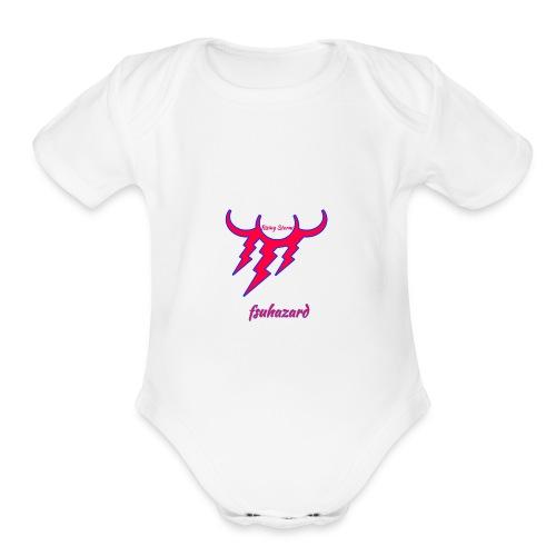 Fsuhazard - Organic Short Sleeve Baby Bodysuit