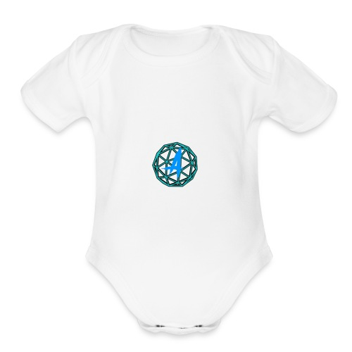 GridsConnected - Organic Short Sleeve Baby Bodysuit