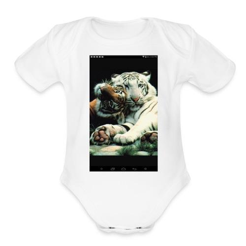 Swave - Organic Short Sleeve Baby Bodysuit
