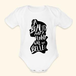 Funny girl - Short Sleeve Baby Bodysuit