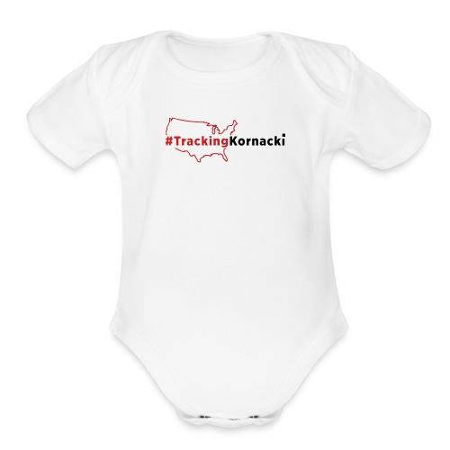 Tracking kornacki Dad - Organic Short Sleeve Baby Bodysuit