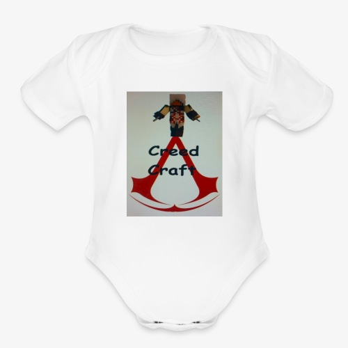 CreedCraft - Organic Short Sleeve Baby Bodysuit