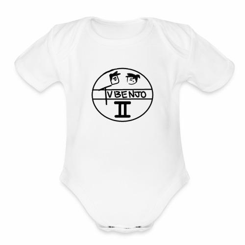 Official TVBENJO Merch - Organic Short Sleeve Baby Bodysuit