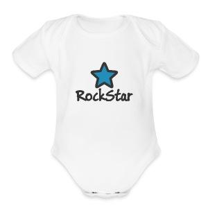RockStar - Short Sleeve Baby Bodysuit