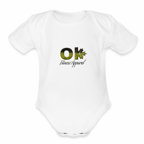 Okanagan Fitness Apparel - Organic Short Sleeve Baby Bodysuit