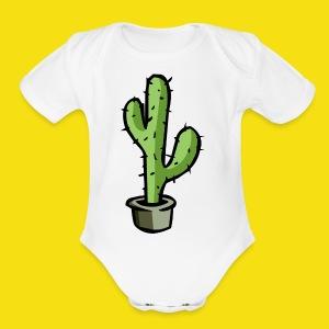Prickly Cactus - Short Sleeve Baby Bodysuit