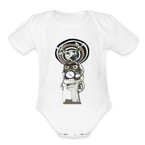 totem - Short Sleeve Baby Bodysuit