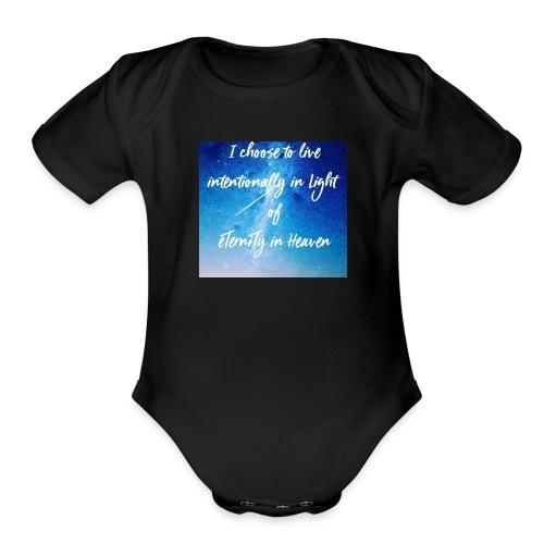20161206_230919 - Organic Short Sleeve Baby Bodysuit