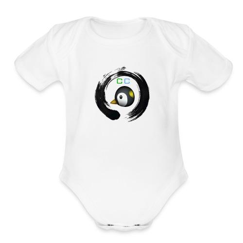 Logo png - Organic Short Sleeve Baby Bodysuit