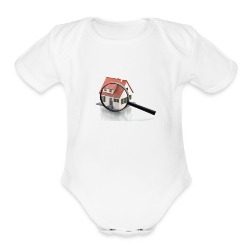 inspection - Organic Short Sleeve Baby Bodysuit