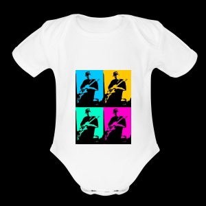 LGBT Support - Short Sleeve Baby Bodysuit
