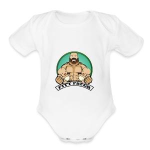 Fitt Fater - Short Sleeve Baby Bodysuit
