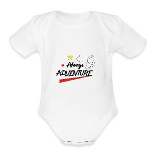 Always Adventure - Short Sleeve Baby Bodysuit