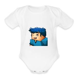 New MarkTGH Logo Item - Short Sleeve Baby Bodysuit