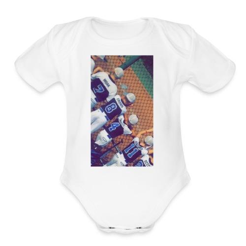 IMG 0609 - Organic Short Sleeve Baby Bodysuit