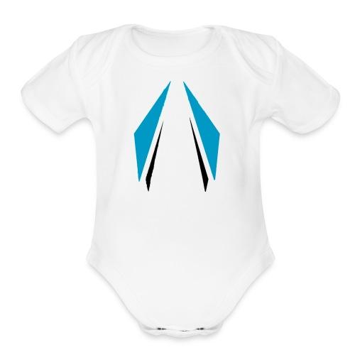 1504323453953 - Organic Short Sleeve Baby Bodysuit