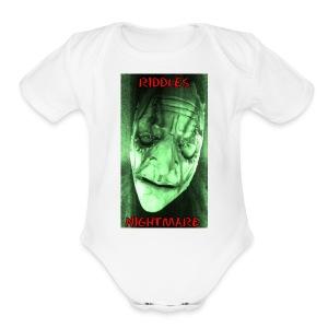 RiddlesNightmare - Short Sleeve Baby Bodysuit