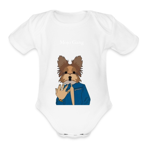 Mojo Gang - Organic Short Sleeve Baby Bodysuit