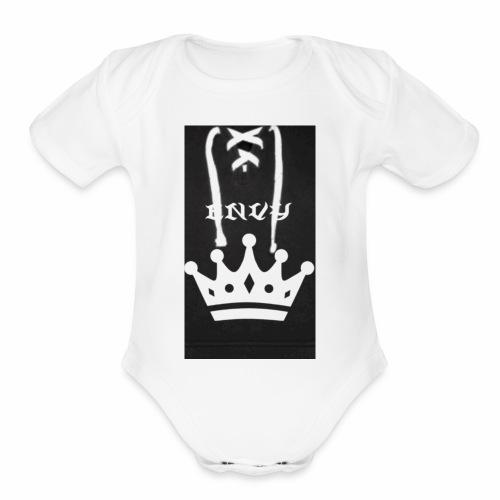 IMG 0464 - Organic Short Sleeve Baby Bodysuit