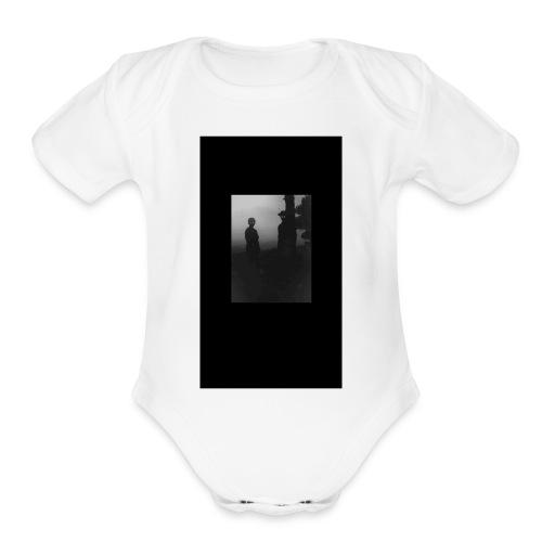 Zaturn Stranger Edition - Organic Short Sleeve Baby Bodysuit