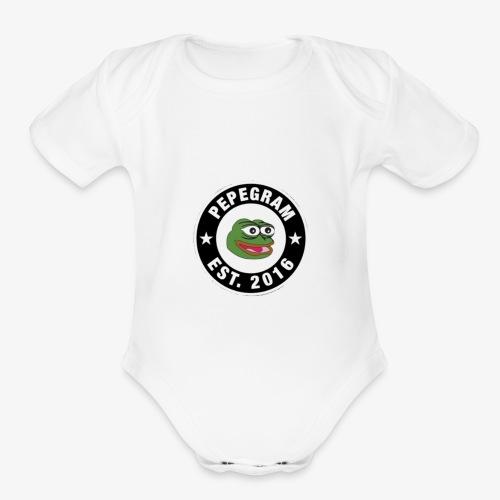 PepeGramApp - Organic Short Sleeve Baby Bodysuit