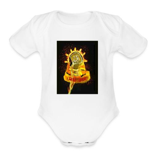 Save The Tiger - Organic Short Sleeve Baby Bodysuit