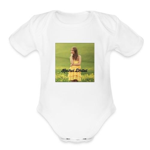 Kashvi Dhital Merch - Organic Short Sleeve Baby Bodysuit
