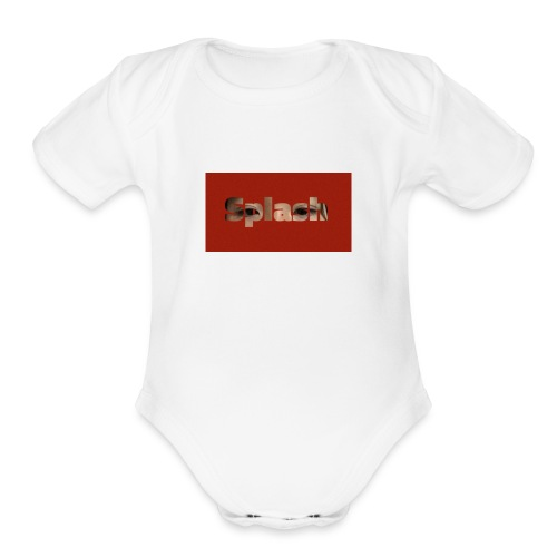 Eyes on you - Organic Short Sleeve Baby Bodysuit