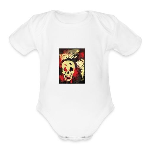 Davel - Organic Short Sleeve Baby Bodysuit