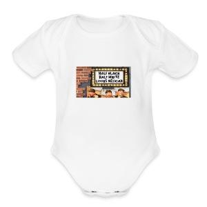 Key Lewis; Marquee - Short Sleeve Baby Bodysuit