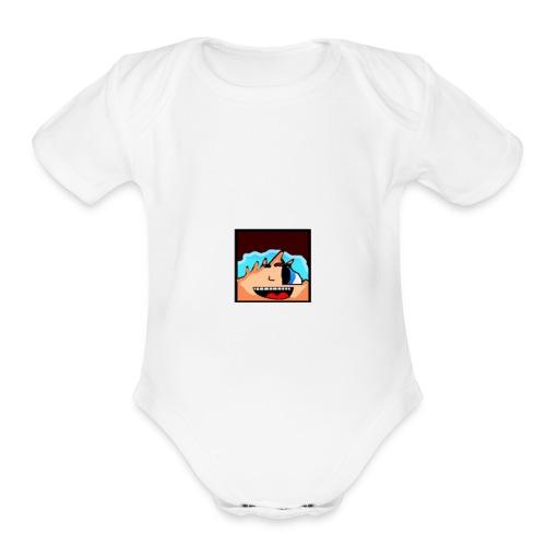 TrimmerJoker hoddie for kids - Organic Short Sleeve Baby Bodysuit