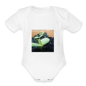 Small Plants - Short Sleeve Baby Bodysuit