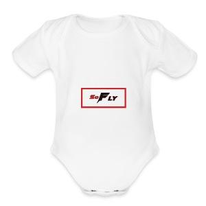 SoFLY Flagship Design - Short Sleeve Baby Bodysuit