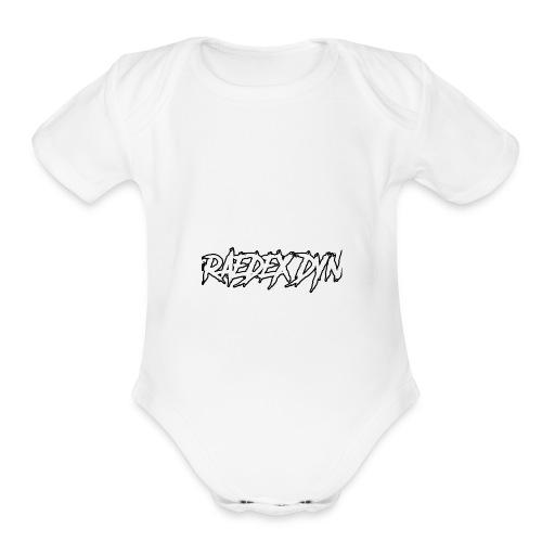 RAEDEX DYN - Organic Short Sleeve Baby Bodysuit