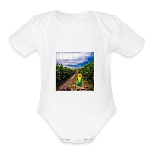 Cornfield - Organic Short Sleeve Baby Bodysuit