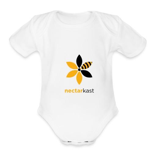 NECTARKAST - Organic Short Sleeve Baby Bodysuit