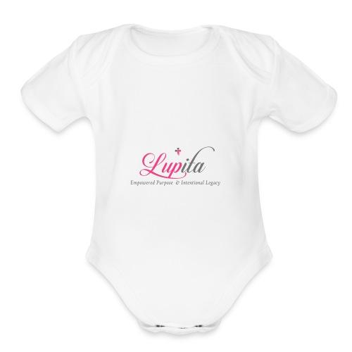Ministry Logo - Organic Short Sleeve Baby Bodysuit