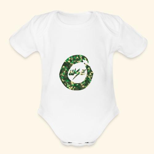 OWSE Camo - Organic Short Sleeve Baby Bodysuit
