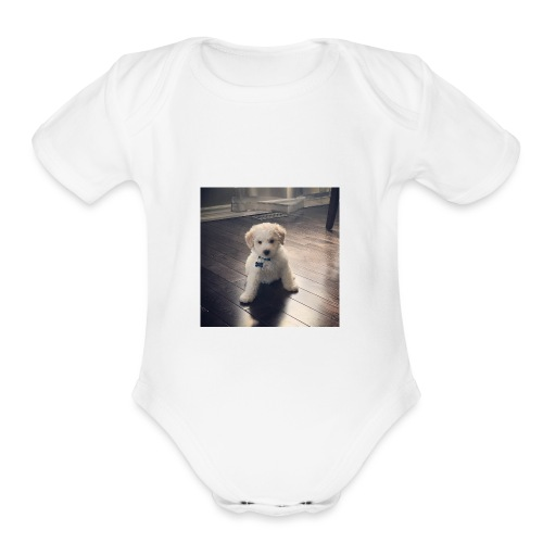 The Pupper - Organic Short Sleeve Baby Bodysuit