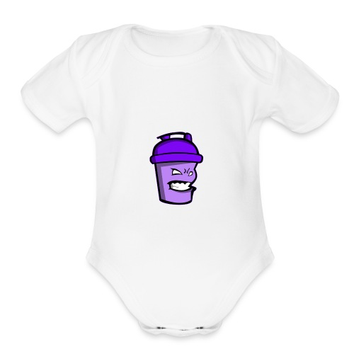 Protein playground shaker cup - Organic Short Sleeve Baby Bodysuit