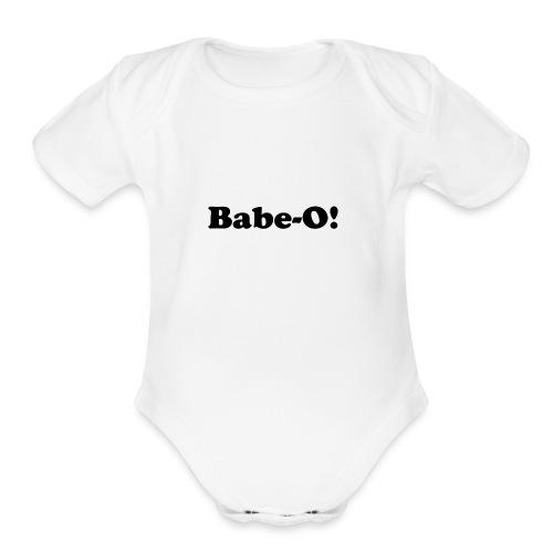 Babe-O! - Organic Short Sleeve Baby Bodysuit