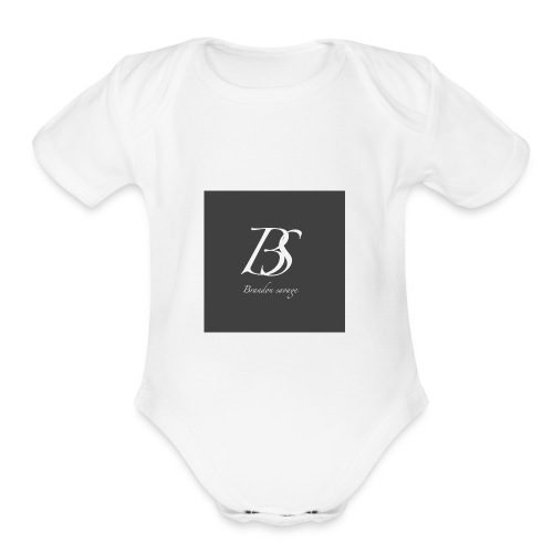 brandon savage vlogs - Organic Short Sleeve Baby Bodysuit