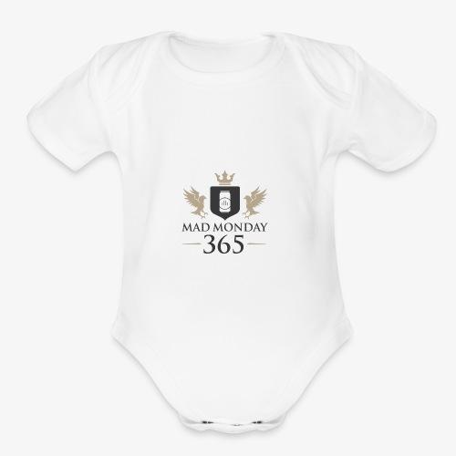 Offical Mad Monday Clothing - Organic Short Sleeve Baby Bodysuit