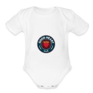 Good heart LLC Wear - Short Sleeve Baby Bodysuit