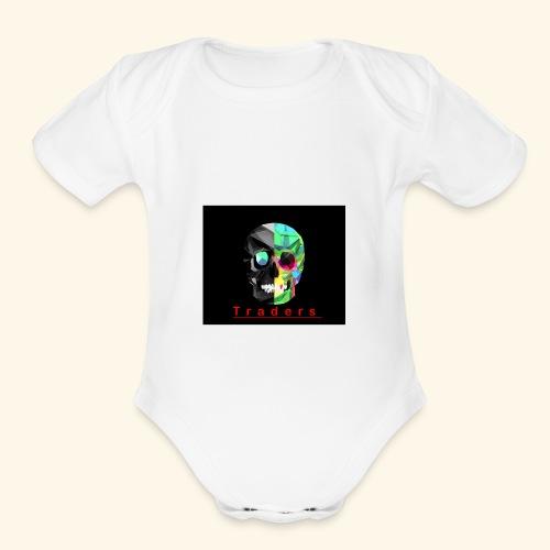 Trader - Organic Short Sleeve Baby Bodysuit