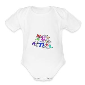 Ideas Plans Action - Short Sleeve Baby Bodysuit