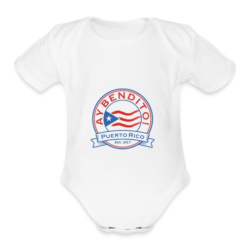 Ay Bendito - Organic Short Sleeve Baby Bodysuit