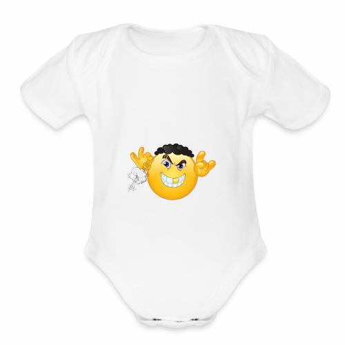 Young Ahk Niggah - Organic Short Sleeve Baby Bodysuit