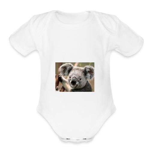 Koala Merch - Organic Short Sleeve Baby Bodysuit