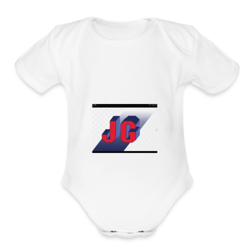 Jimmy Gamer - Organic Short Sleeve Baby Bodysuit